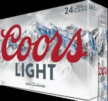 Coors Light 24 x 355 ml