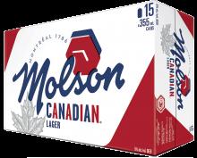 Molson Canadian 15 x 355 ml