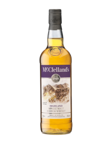 McClellands Highland Single Malt Scotch Whisky 750 ml