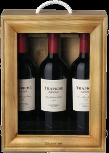 Trapiche Single Vineyard Malbec Mixed 3 x 750 ml