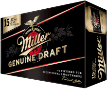 Miller Genuine Draft 15 x 355 ml