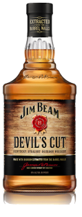 Jim Beam Devils Cut Kentucky Straight Bourbon Whiskey 750 ml
