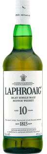 Laphroaig 10 YO Islay Single Malt Scotch Whisky 750 ml