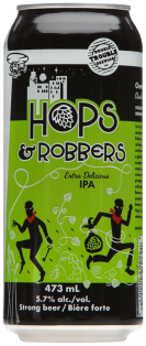 Double Trouble Hops & Robbers IPA Strong 473 ml