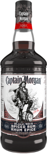 Captain Morgan Black Spiced Rum 750 ml