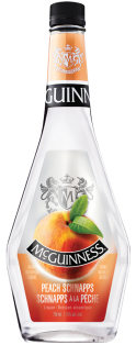 McGuinness Peach Schnapps Liquor 750 ml