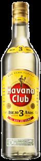Havana Club Anejo 3 Anos Light Rum 750 ml