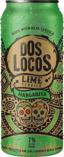 Dos Locos Lime Margarita 440 ml