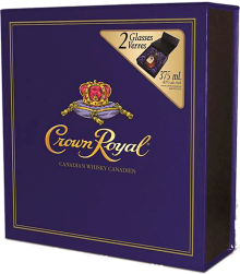 Crown Royal Canadian Whisky Gift Pack 375 ml