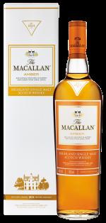 The Macallan Amber Highland Single Malt Scotch Whisky 750 ml