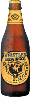 Whistler Brewing Company Bear Paw Honey Lager 330 ml