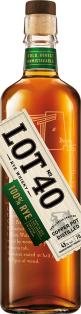 Lot No 40 Single Copper Pot Still Canadian Whisky 750 ml