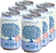Lonetree - Authentic Dry Cider 6 x 355 ml