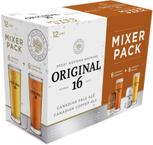Original 16 Mixer Pack 12 x 355 ml