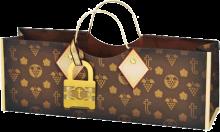 True Logo Purse Bag