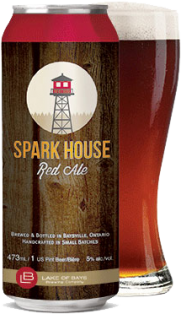 Lake of Bays Spark House Red Ale 473 ml