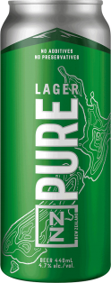Independent Brewery NZ Pure Lager 440 ml