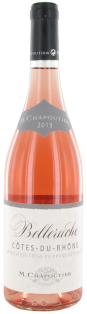 Belleruche Cotes du Rhone Rose AOC 750 ml