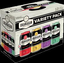 Okanagan Premium - BC Cider Sampler 12 x 355 ml