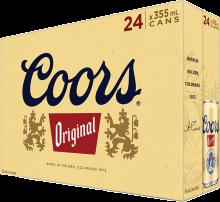 Coors Original Lager 24 x 355 ml
