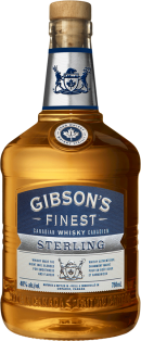 Gibson's Finest Sterling Canadian Whisky 750 ml