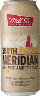 Mill Street 100th Meridian Organic Amber Lager 473 ml