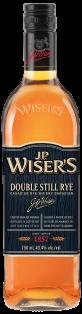JP Wisers Double Still Rye 750 ml