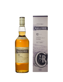 Cragganmore 12 Year Speyside Single Malt Scotch Whisky 750 ml