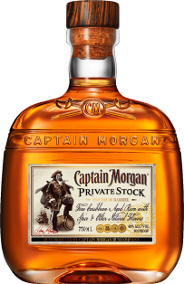 Captain Morgan Private Stock Spiced Rum 750 ml