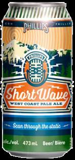Phillips Brewing Short Wave West Coast Pale Ale 473 ml