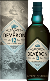 The Deveron 12 Year Old Highland Single Malt Scotch Whisky 750 ml