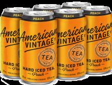 American Vintage Peach Iced Tea 6 x 355 ml