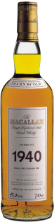 THE MACALLAN FINE & RARE 1940 SINGLE MALT SCOTCH WHISKY 750 ml