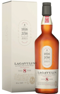 Lagavulin 8 Year Old Islay Single Malt Scotch Whisky 750 ml