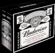 Budweiser Prohibition Brew 12 x 355 ml
