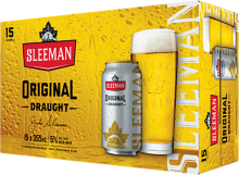 Sleeman Original Draught 15 x 355 ml