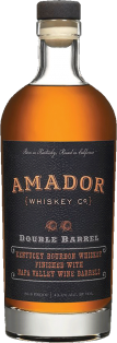 Amador Double Barrel Bourbon Whiskey 750 ml