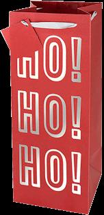 Ho Ho Ho Holiday Gift Bag