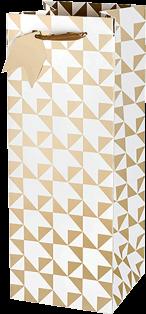 Gold Arrow Gift Bag