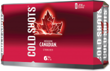 Molson Canadian Cold Shots 8 x 236 ml