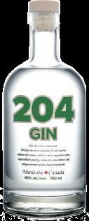 204 Spirits Gin 750 ml