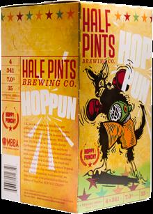 Half Pints Hop Pun IPA 4 x 341 ml