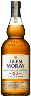GLEN MORAY 25 YO PORT CASK SINGLE MALT SCOTCH WHISKY 750 ml