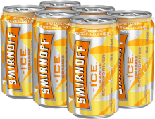Smirnoff ICE Orange Screwdriver 6 x 355 ml