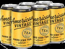 American Vintage Hard Iced Tea Classic Lemon 6 x 355 ml