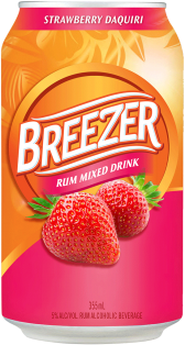 Bacardi Breezer Strawberry Daiquiri 6 x 355 ml