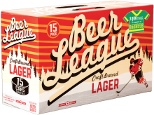 Central City Beer League Premium Lager 15 x 355 ml