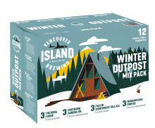 Vancouver Island Outpost Winter Mix Pack 12 x 355 ml