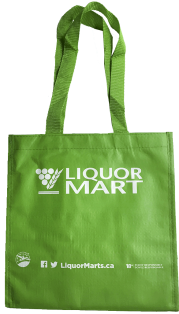 Reusable 6-bottle bag, Green