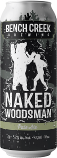 Bench Creek Naked Woodsman Pale Ale 473 ml